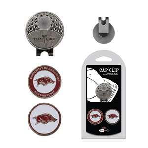 University of Arkansas Razorbacks Golf Cap Clip Pack
