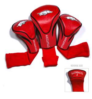 University of Arkansas Razorbacks Golf 3 Pack Contour Headcover