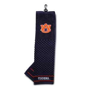 Auburn University Tigers Golf Embroidered Towel