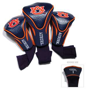 Auburn University Tigers Golf 3 Pack Contour Headcover