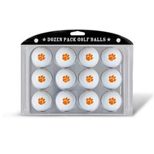Clemson University Tigers Golf Dozen Ball Pack