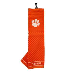 Clemson University Tigers Golf Embroidered Towel