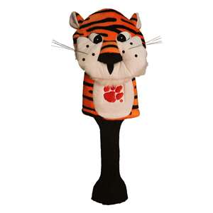 Clemson University Tigers Golf Mascot Headcover