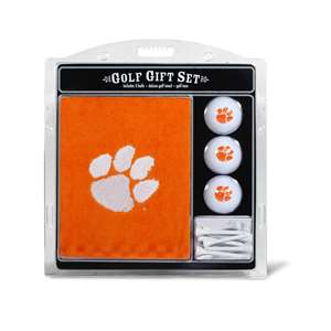 Clemson University Tigers Golf Embroidered Towel Gift Set