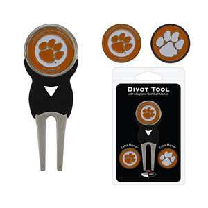 Clemson University Tigers Golf Signature Divot Tool Pack