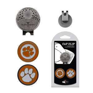 Clemson University Tigers Golf Cap Clip Pack