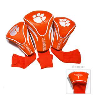 Clemson University Tigers Golf 3 Pack Contour Headcover