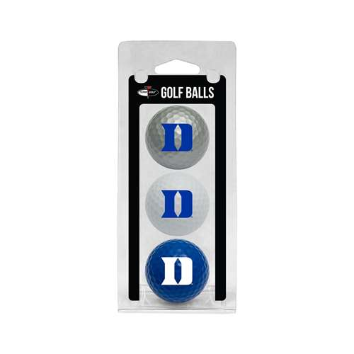 Duke University Blue Demons Golf 3 Ball Pack