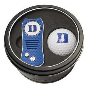 Duke University Blue Demons Golf Tin Set - Switchblade, Golf Ball