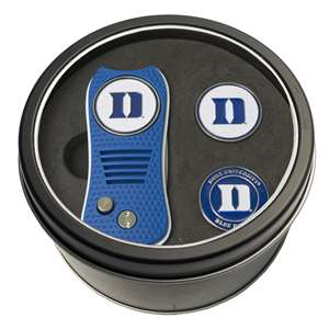 Duke University Blue Demons Golf Tin Set - Switchblade, 2 Markers
