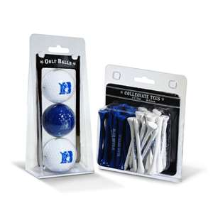 Duke Blue Devils  3 Golf Balls And 50 Golf Tees