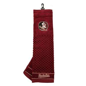 Florida State University Seminoles Golf Embroidered Towel