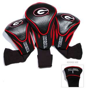 University of Georgia Bulldogs Golf 3 Pack Contour Headcover 21194