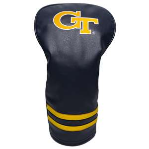 Georgia Tech Yellow Jackets Golf Vintage Driver Headcover 21211