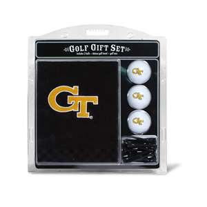Georgia Tech Yellow Jackets Golf Embroidered Towel Gift Set