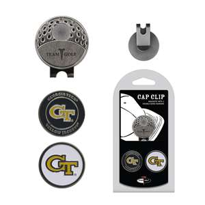 Georgia Tech Yellow Jackets Golf Cap Clip Pack 21247