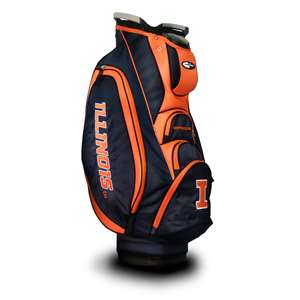 ILLINOIS (UNIVERSITY OF) Fighting Illini Golf VICTORY CART BAG