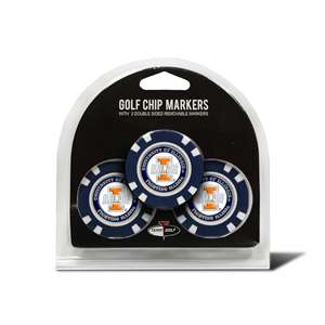 University of Illinois Fighting Illini Golf 3 Pack Golf Chip