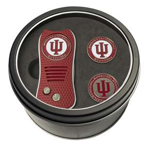 Indiana University Hoosiers Golf Tin Set - Switchblade, 2 Markers 21459