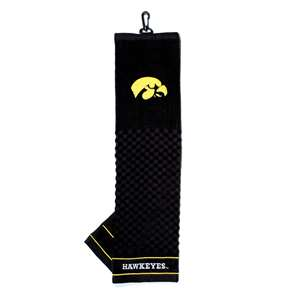 University of Iowa Hawkeyes Golf Embroidered Towel