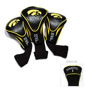 University of Iowa Hawkeyes Golf 3 Pack Contour Headcover