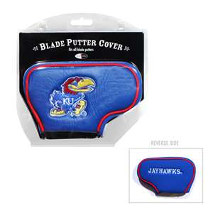 University of Kansas Jayhawks Golf Blade Putter Cover