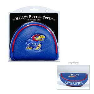 University of Kansas Jayhawks Golf Mallet Putter Cover