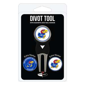 University of Kansas Jayhawks Golf Signature Divot Tool Pack