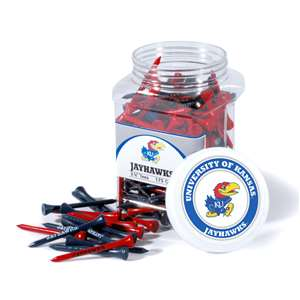 University of Kansas Jayhawks Golf 175 Tee Jar 21751