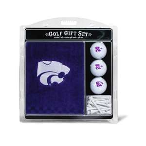 Kansas State University Wildcats Golf Embroidered Towel Gift Set 21820