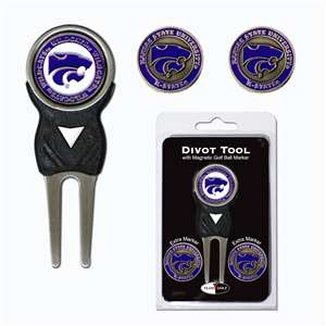 Kansas State University Wildcats Golf Signature Divot Tool Pack