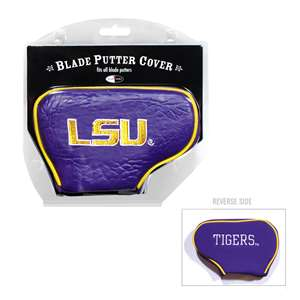LSU Louisiana State University Tigers Golf Blade Putter Cover