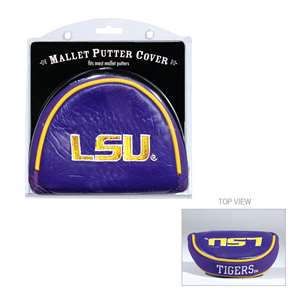 LSU Louisiana State University Tigers Golf Mallet Putter Cover