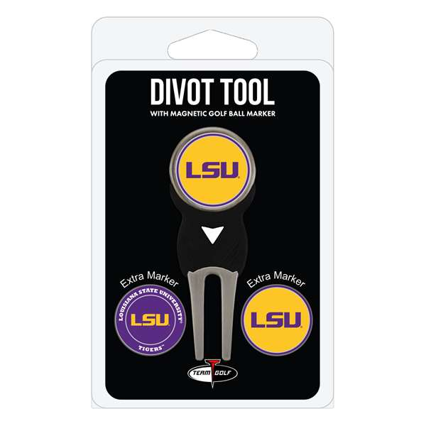 LSU Louisiana State University Tigers Golf Signature Divot Tool Pack  22045