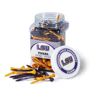 LSU Louisiana State University Tigers Golf 175 Tee Jar 22051