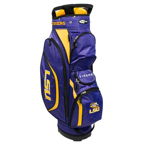LSU Louisiana State University Tigers Golf Clubhouse Cart Bag