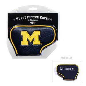 University of Michigan Wolverines Golf Blade Putter Cover
