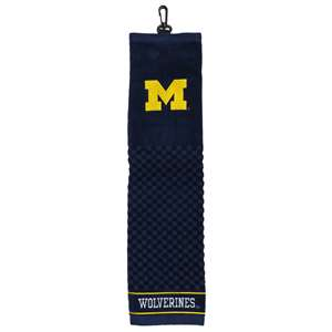 University of Michigan Wolverines Golf Embroidered Towel