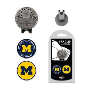 University of Michigan Wolverines Golf Cap Clip Pack