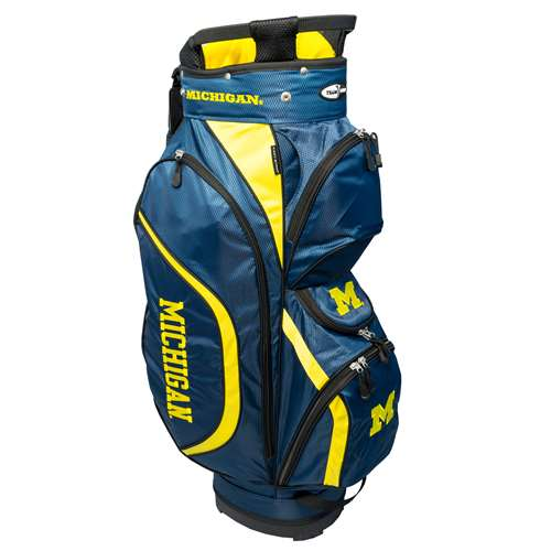 University of Michigan Wolverines Golf Clubhouse Cart Bag