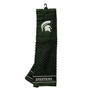 Michigan State University Spartans Golf Embroidered Towel