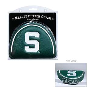 Michigan State University Spartans Golf Mallet Putter Cover