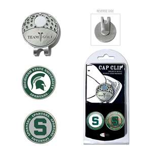 Michigan State University Spartans Golf Cap Clip Pack