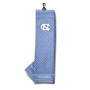 University of North Carolina Tar Heels Golf Embroidered Towel