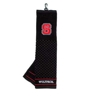 North Carolina State University Wolfpack Golf Embroidered Towel