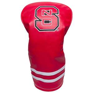 North Carolina State University Wolfpack Golf Vintage Driver Headcover