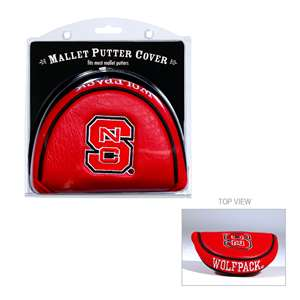 North Carolina State University Wolfpack Golf Mallet Putter Cover