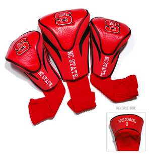North Carolina State University Wolfpack Golf 3 Pack Contour Headcover 22694