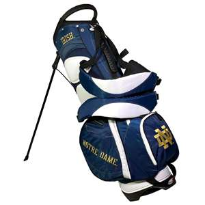 NOTRE DAME (UNIVERSITY OF) Golf FAIRWAY STAND BAG