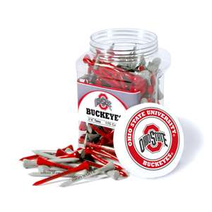 Ohio State University Buckeyes Golf 175 Tee Jar